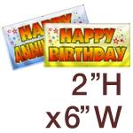 2' H x 6' W