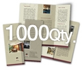 "8.5"" x 11"" 4/0 - 100# Gloss Book 1000"