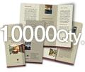 "8.5"" x 11"" 4/0 - 100# Gloss Book 10000"