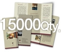 "8.5"" x 11"" 4/0 - 100# Gloss Book 15000"