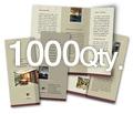 "8.5"" x 11"" 4/4 - 100# Gloss Book 1000"