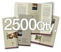 "8.5"" x 11"" 4/4 - 100# Gloss Book 2500"