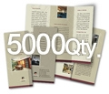 "8.5"" x 11"" 4/4 - 100# Gloss Book 5000"
