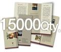 "8.5"" x 11"" 4/4 - 100# Gloss Book 15000"