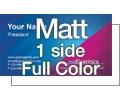 Matt - 1 Side Full Color
