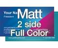 Matt - 2 Sided Full Color